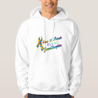 I Wear A Puzzle for my Granddaughter Hoodie
