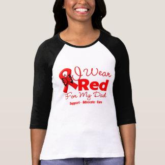 I Wear a Red Ribbon For My Dad Tshirt