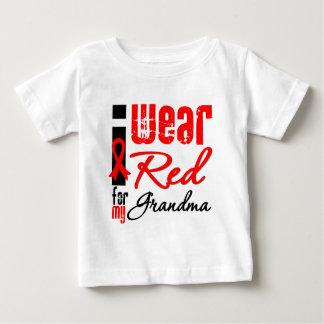 I Wear a Red Ribbon For My Grandma Tee Shirt