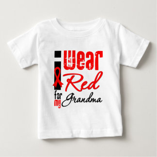 I Wear a Red Ribbon For My Grandma Tshirt