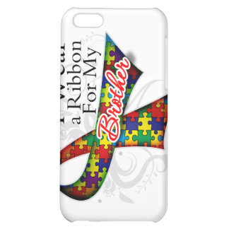 I Wear a Ribbon For My Brother - Autism Awareness Cover For iPhone 5C