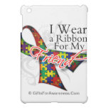 I Wear a Ribbon For My Friend - Autism Awareness iPad Mini Cases