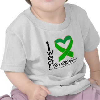 I Wear a Ribbon For My Hero - Kidney Cancer T Shirt