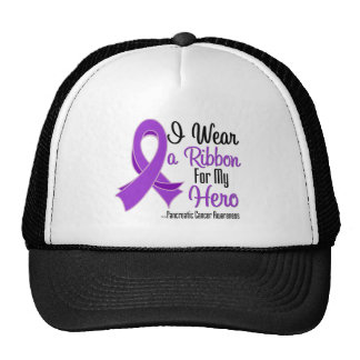 I Wear a Ribbon For My Hero - Pancreatic Cancer Trucker Hat