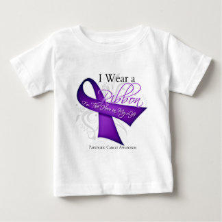I Wear a Ribbon For My Hero - Pancreatic Cancer T-shirt