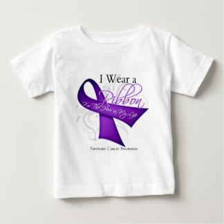 I Wear a Ribbon For My Hero - Pancreatic Cancer T Shirts