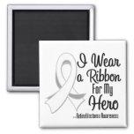 I Wear a Ribbon For My Hero - Retinoblastoma Magnets