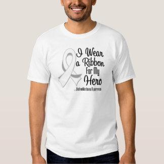 I Wear a Ribbon For My Hero - Retinoblastoma Tee Shirt