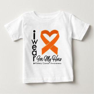 I Wear a Ribbon For My Hero v2 - Kidney Cancer T-shirts