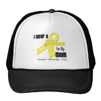 I Wear a Ribbon For My Mom - Sarcoma Trucker Hat