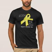 I Wear a Ribbon For My Niece - Sarcoma T-Shirt