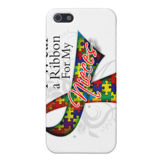 I Wear a Ribbon For My Nieces - Autism Awareness iPhone 5 Cover