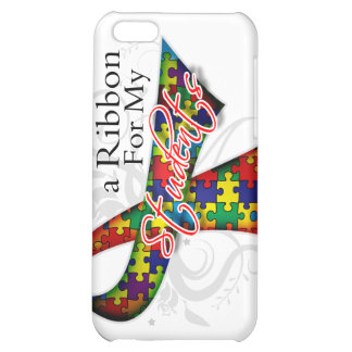 I Wear a Ribbon For My Students - Autism Awareness iPhone 5C Case