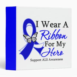 I Wear a Ribbon HERO ALS Disease Binder