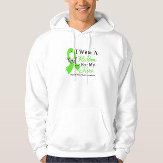 I Wear A Ribbon Hero Mental Health Awareness Hooded Sweatshirt