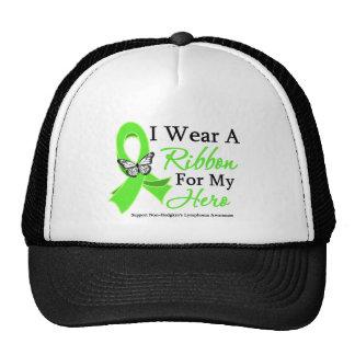 I Wear A Ribbon HERO Non-Hodgkin's Lymphoma Hats