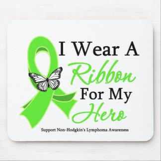 I Wear A Ribbon HERO Non-Hodgkin's Lymphoma Mouse Pad