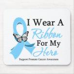 I Wear A Ribbon HERO Prostate Cancer Mousepad