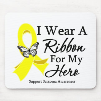 I Wear a Ribbon HERO Sarcoma Mouse Pads