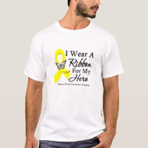 I Wear a Ribbon HERO Suicide Prevention T-Shirt