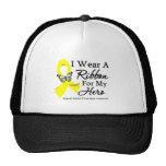 I Wear a Ribbon HERO Suicide Prevention Trucker Hat