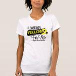 I Wear a Sarcoma Ribbon For Me Tee Shirts