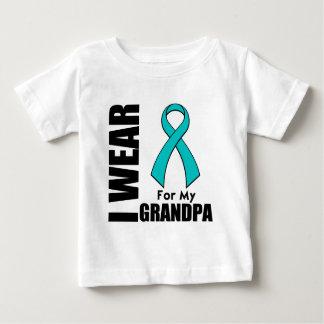 I Wear a Teal Ribbon For My Grandpa T-shirt