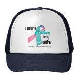 I Wear a Thyroid Cancer Ribbon For My Wife Trucker Hats