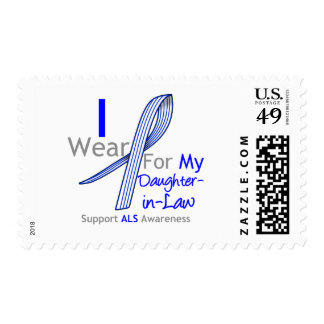 I Wear ALS Ribbon For My Daughter-in-Law Stamps