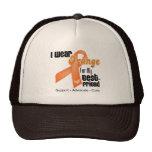 I Wear an Orange Ribbon For My Best Friend Trucker Hat