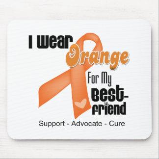I Wear an Orange Ribbon For My Best Friend Mouse Pad
