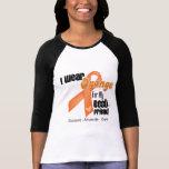 I Wear an Orange Ribbon For My Best Friend T-shirt