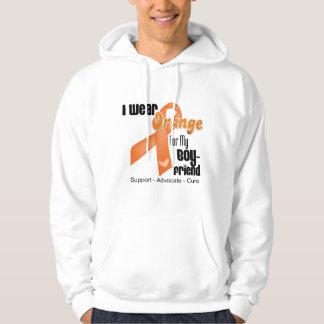 I Wear an Orange Ribbon For My Boyfriend Hoodie