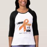 I Wear an Orange Ribbon For My Husband T-shirt