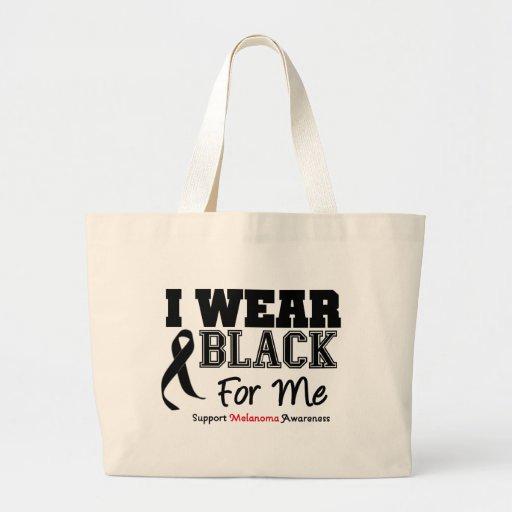 I Wear Black For Me Bag