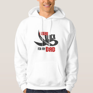 I Wear Black For My Dad 33 Hoodie