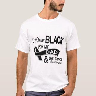 I Wear Black For My Dad 42 Skin Cancer T-Shirt