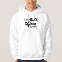 I Wear Black For My Daddy 42 Melanoma Hoodie