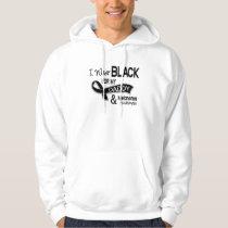 I Wear Black For My Daddy 42 Melanoma Hoodie