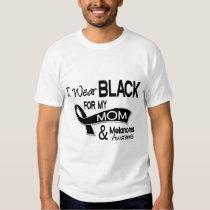 I Wear Black For My Mom 42 Melanoma T-Shirt