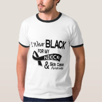 I Wear Black For My Niece 42 Skin Cancer T-Shirt