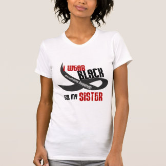 I Wear Black For My Sister 33 MELANOMA T-Shirt