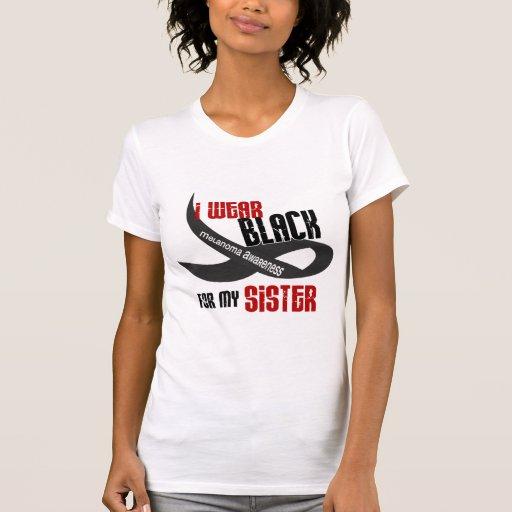 I Wear Black For My Sister 33 MELANOMA Tanktop