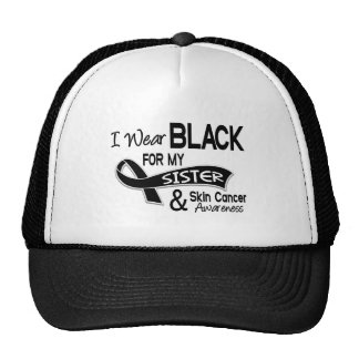 I Wear Black For My Sister 42 Skin Cancer Hats