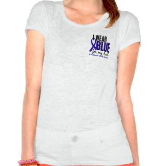 I Wear Blue Aunt Rheumatoid Arthritis RA T-shirt