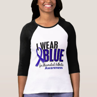 I Wear Blue Awareness 10 Rheumatoid Arthritis RA T-shirts