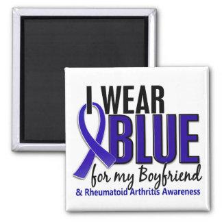 I Wear Blue Boyfriend 10 Rheumatoid Arthritis RA Refrigerator Magnet