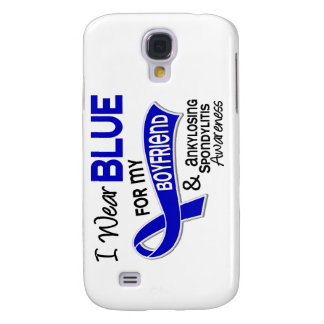 I Wear Blue Boyfriend 42 Ankylosing Spondylitis AS Galaxy S4 Cases