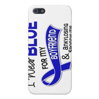 I Wear Blue Boyfriend 42 Ankylosing Spondylitis AS iPhone 5 Case