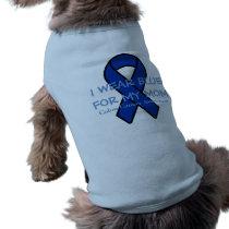 I wear Blue (customize) dog Shirt